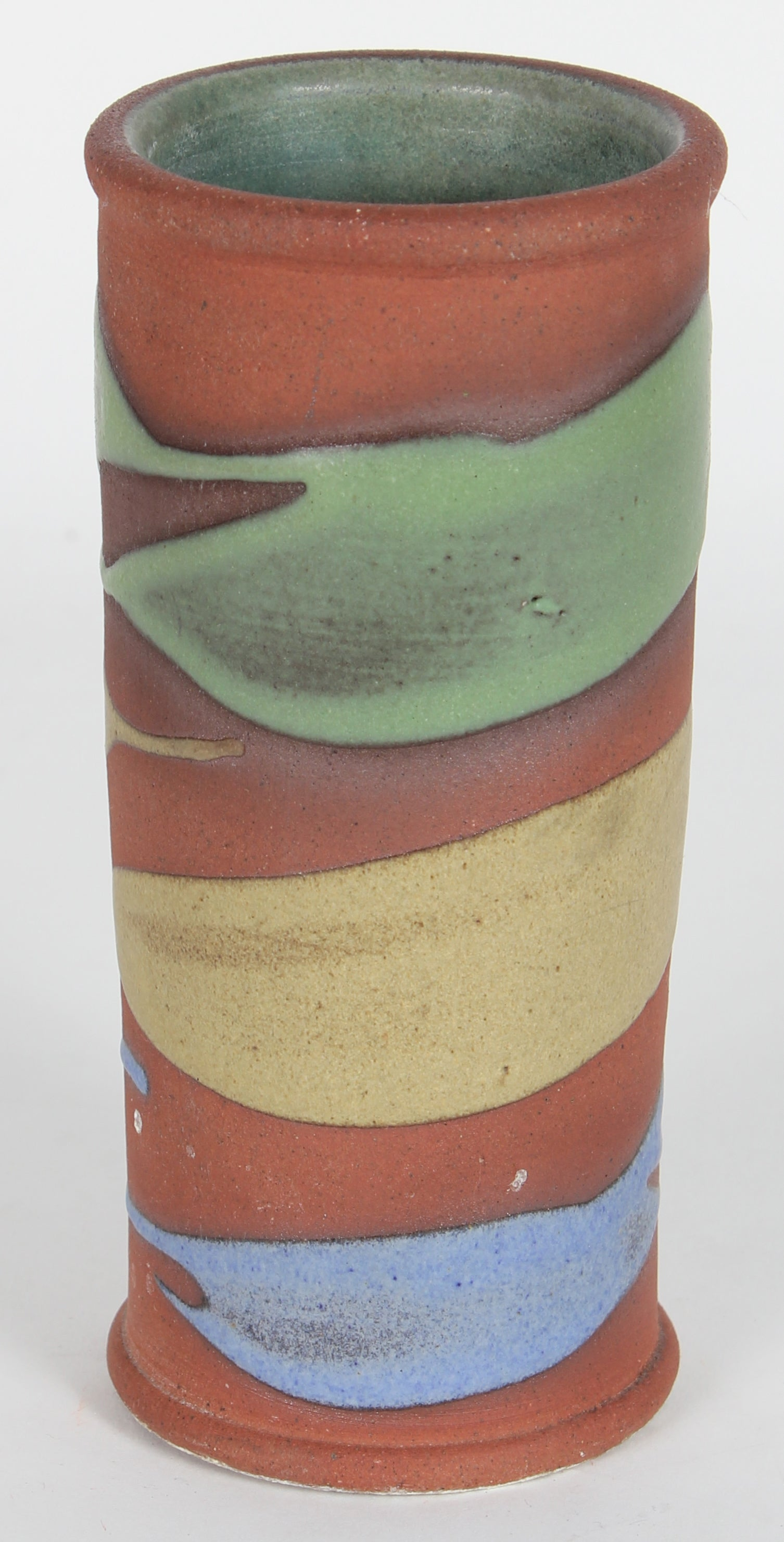 20th Century Ceramic with Tri-Color Pattern <br><br>#14498