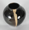 Mid Century Ceramic Vessel with Vertical Stripe <br><br>#13008