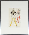 Models in Tights<br>Gouache, 1946-54<br><br>#18476