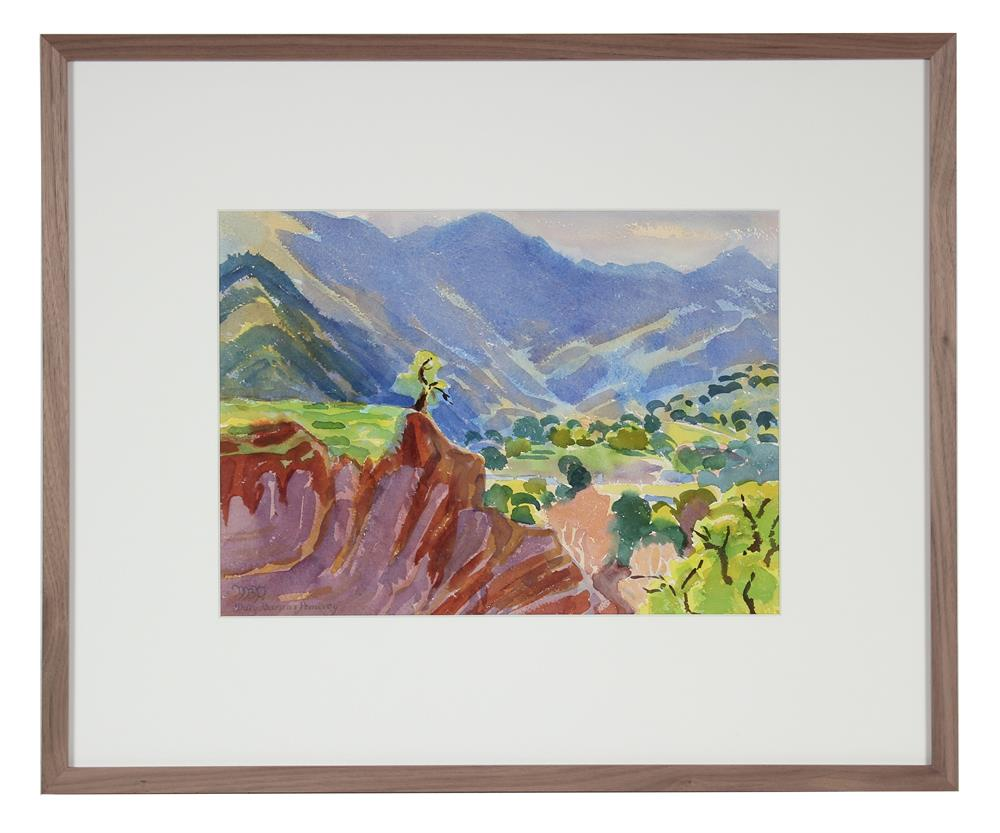 <i>Arroyo Seco</i><br>1967 Watercolor<br><br>#72016