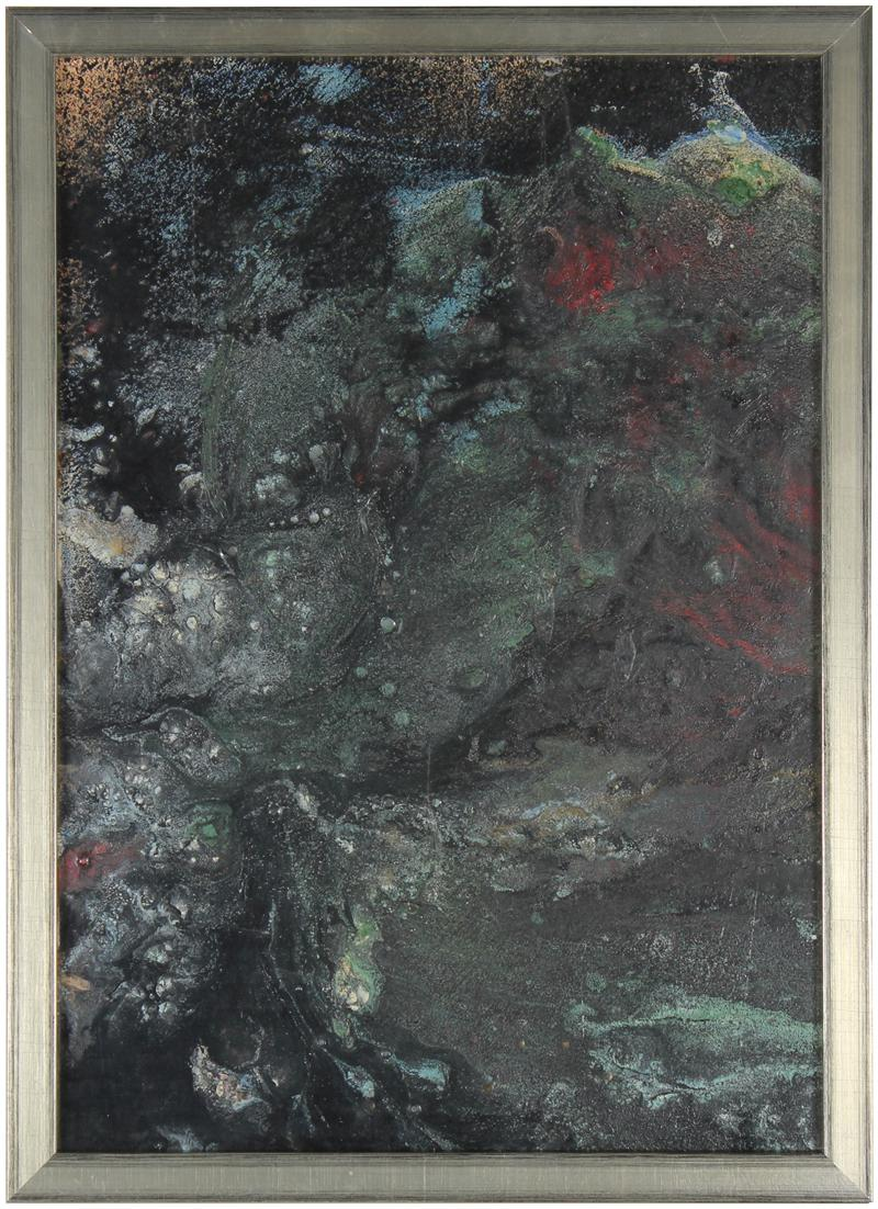 Moody Oil Abstract<br>1960s Oil<br><br>#31936