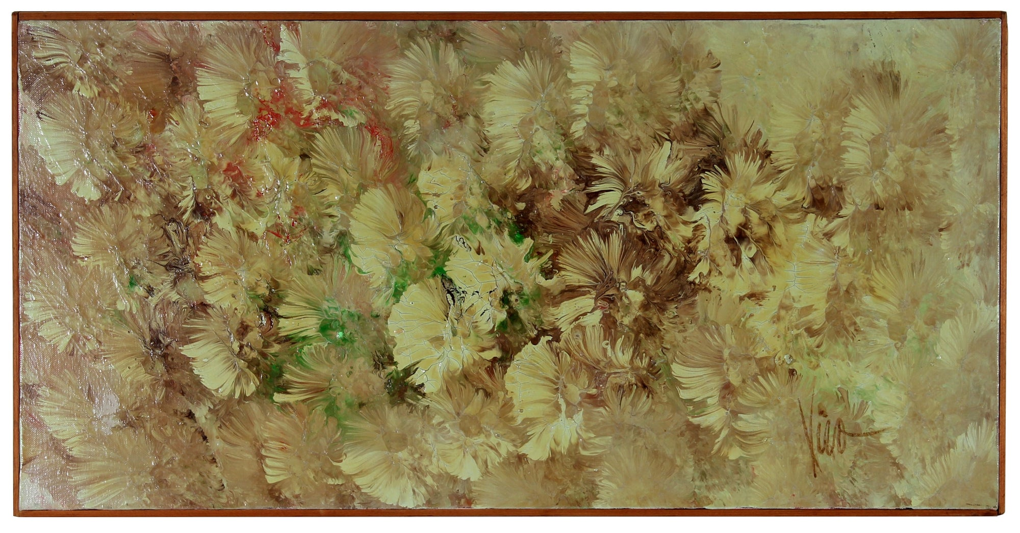 <i>Spetember Gardens</i><br> 1960s Oil on Canvas<br><br>#35715