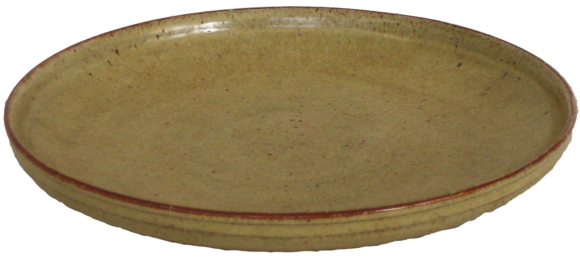 Cream-Colored Ceramic<br>Mid Century<br><br>#5031