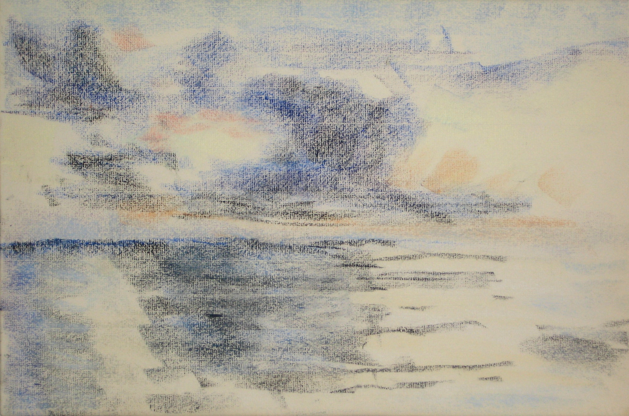 Abstracted Pastel Seascape<br>1966<br><br>#15166