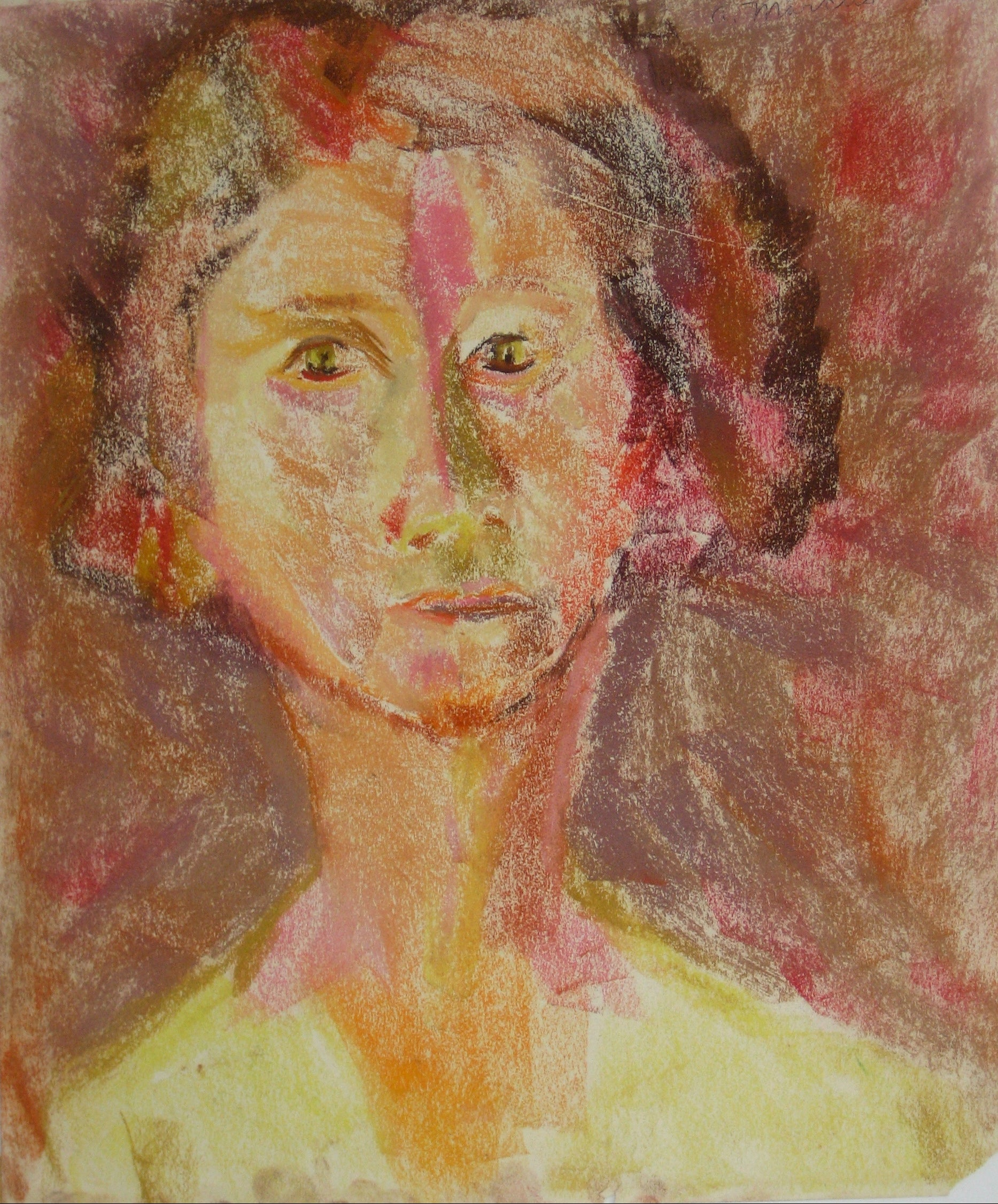 Portrait in Pastel<br>1950-60s<br><br>#15267