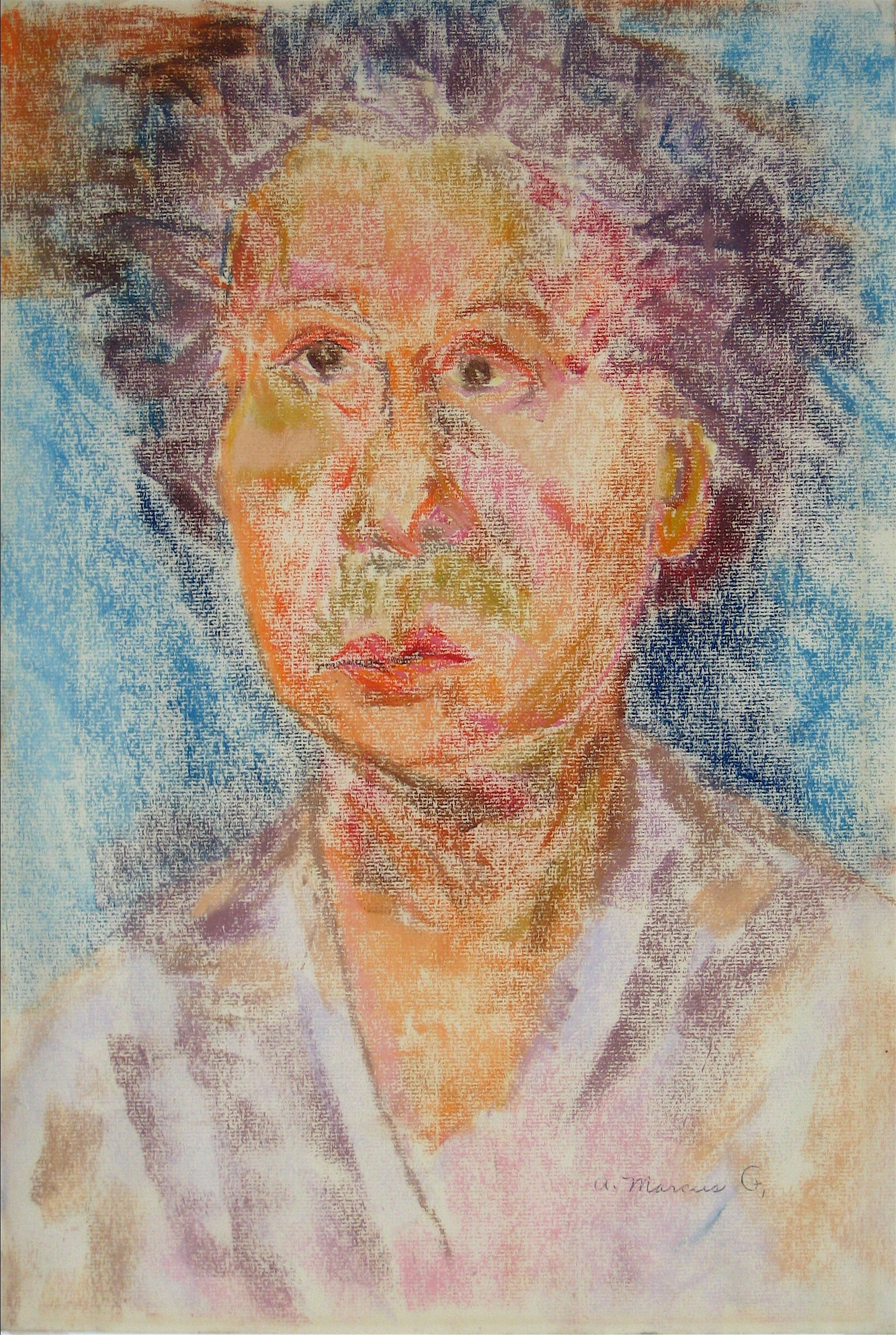<i>Pearl Tofel Shortly After Tofel's Death</i><br>Pastel, 1950-60s<br><br>#15278