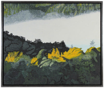 <i>Autumn Rays at Dawn</i> <br>2014 Mendocino, CA Oil <br><br> #59267
