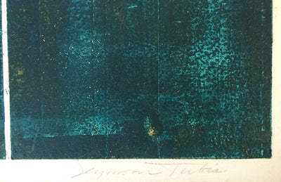 <i>Antartic Metamorphosis</i><br>Mid Century Collograph & Etching<br><br>#69938