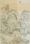 <i>Coit Tower</i> <br>1940s Graphite <br><br>#68307