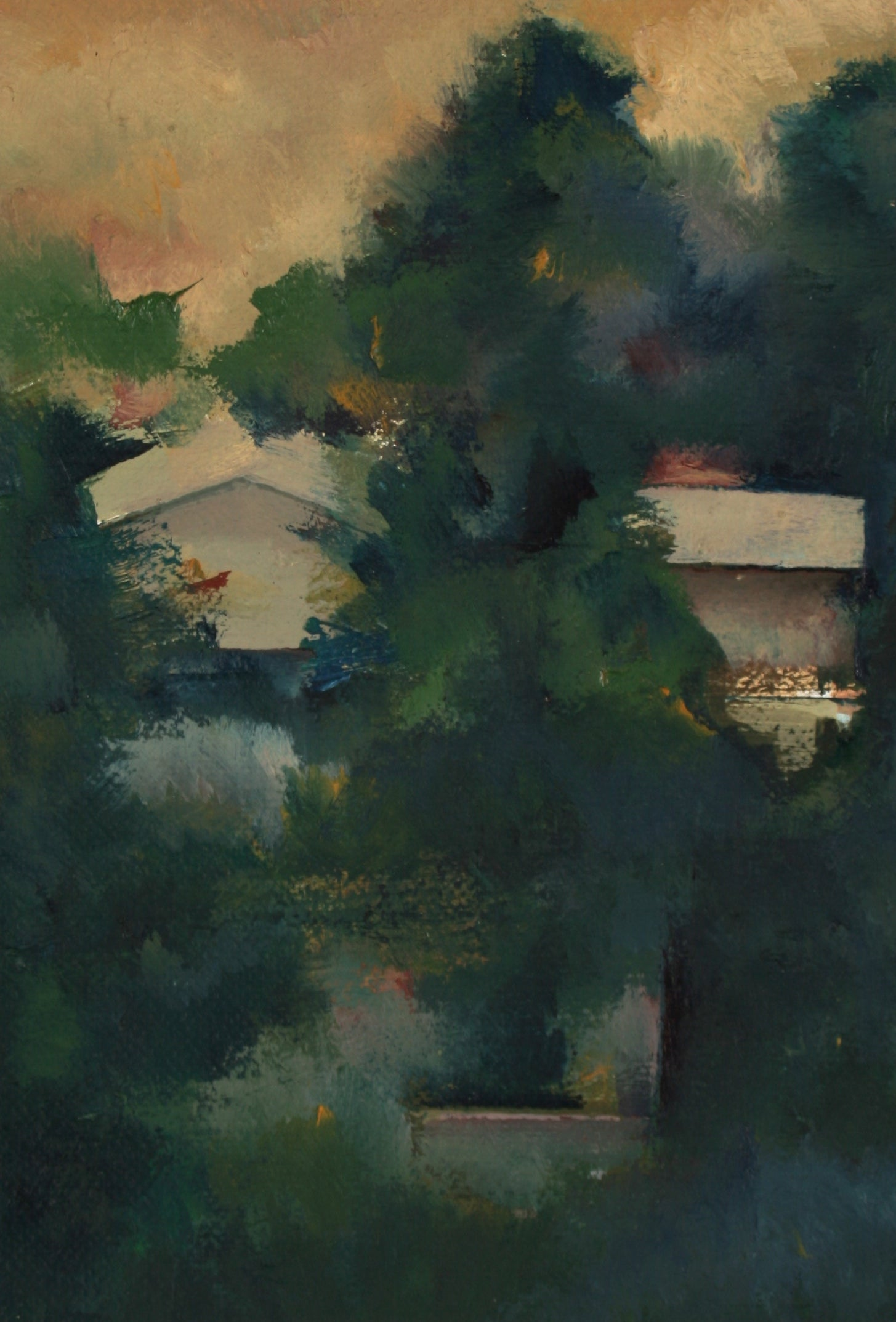 Abstracted Los Angeles Homes<br>20th Century Oil<br><br>#71464