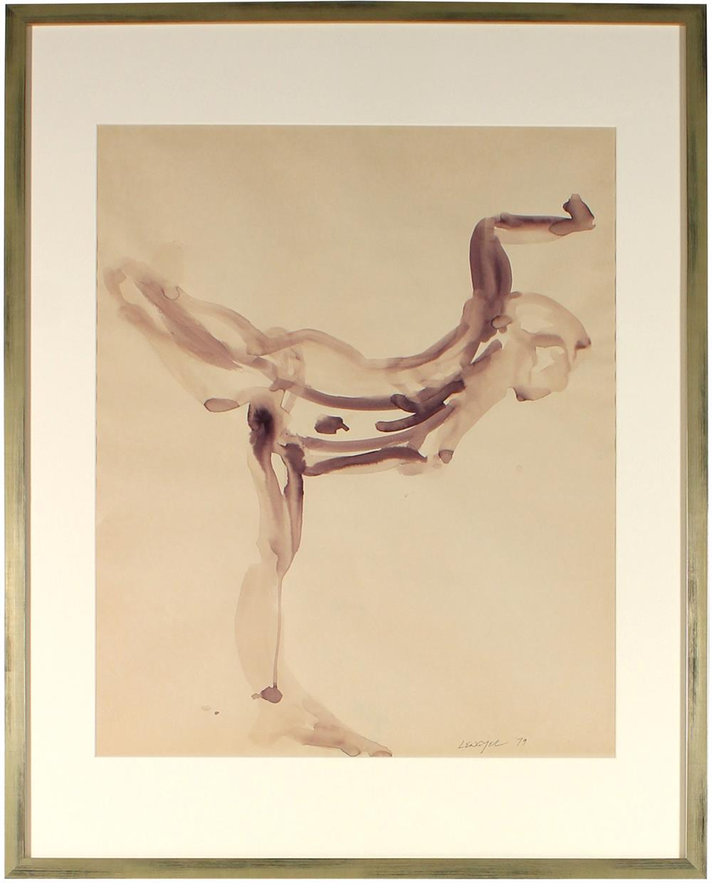 <i>Dancing Woman (The 5 Patty's)</i><br>1979 Ink Wash Figure<br><br>#57373