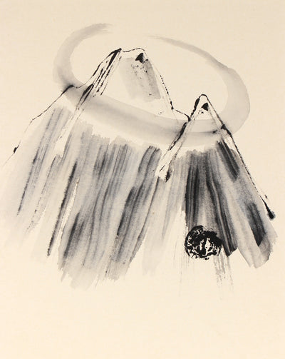 <i>Circle Mountain</i><br>Late 20th Century Ink