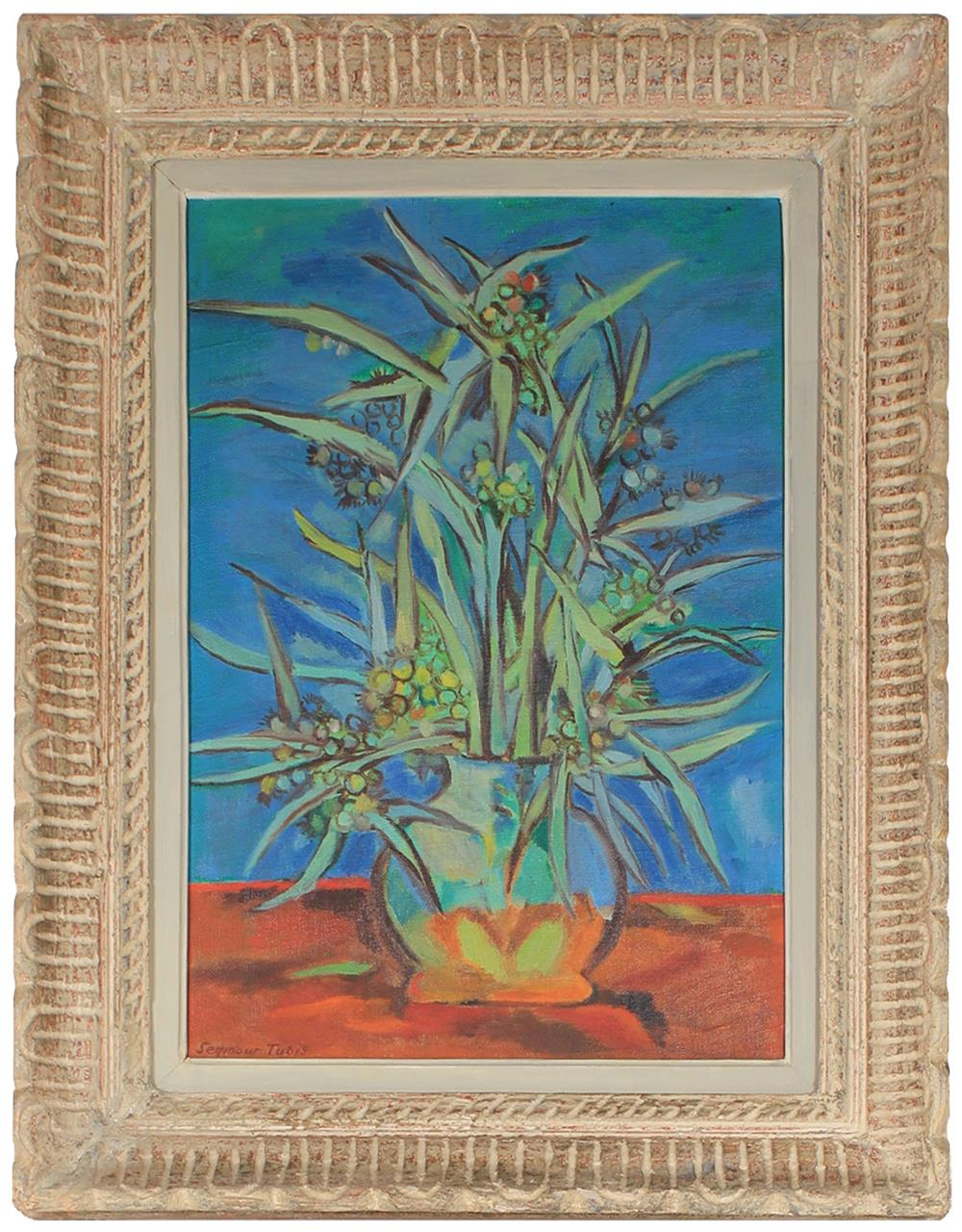 <i>Mimosa (Blue)</i> <br>1949 Oil <br><br>#83572