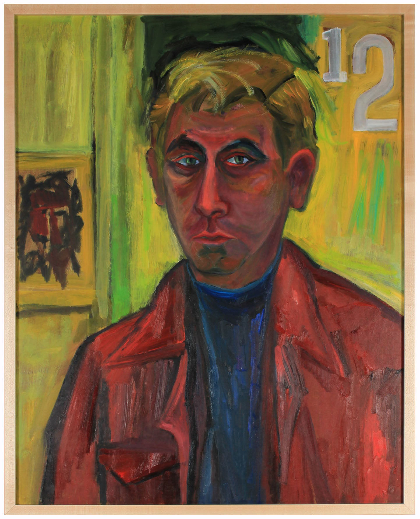 <i>Self-Portrait</i><br>1970s Oil<br><br>#83578