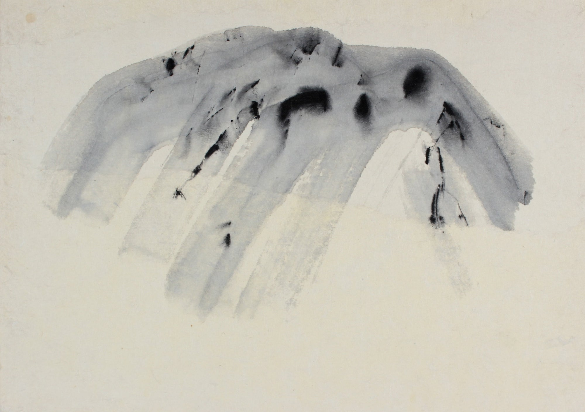 <i>The Mountain Speaks</i><br>Late 20th Century Ink<br><br>#84656