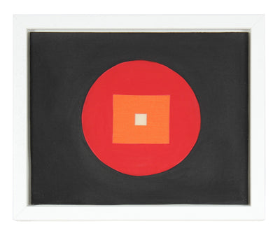 <i>White Square</i><br>1966 Collage<br><br>