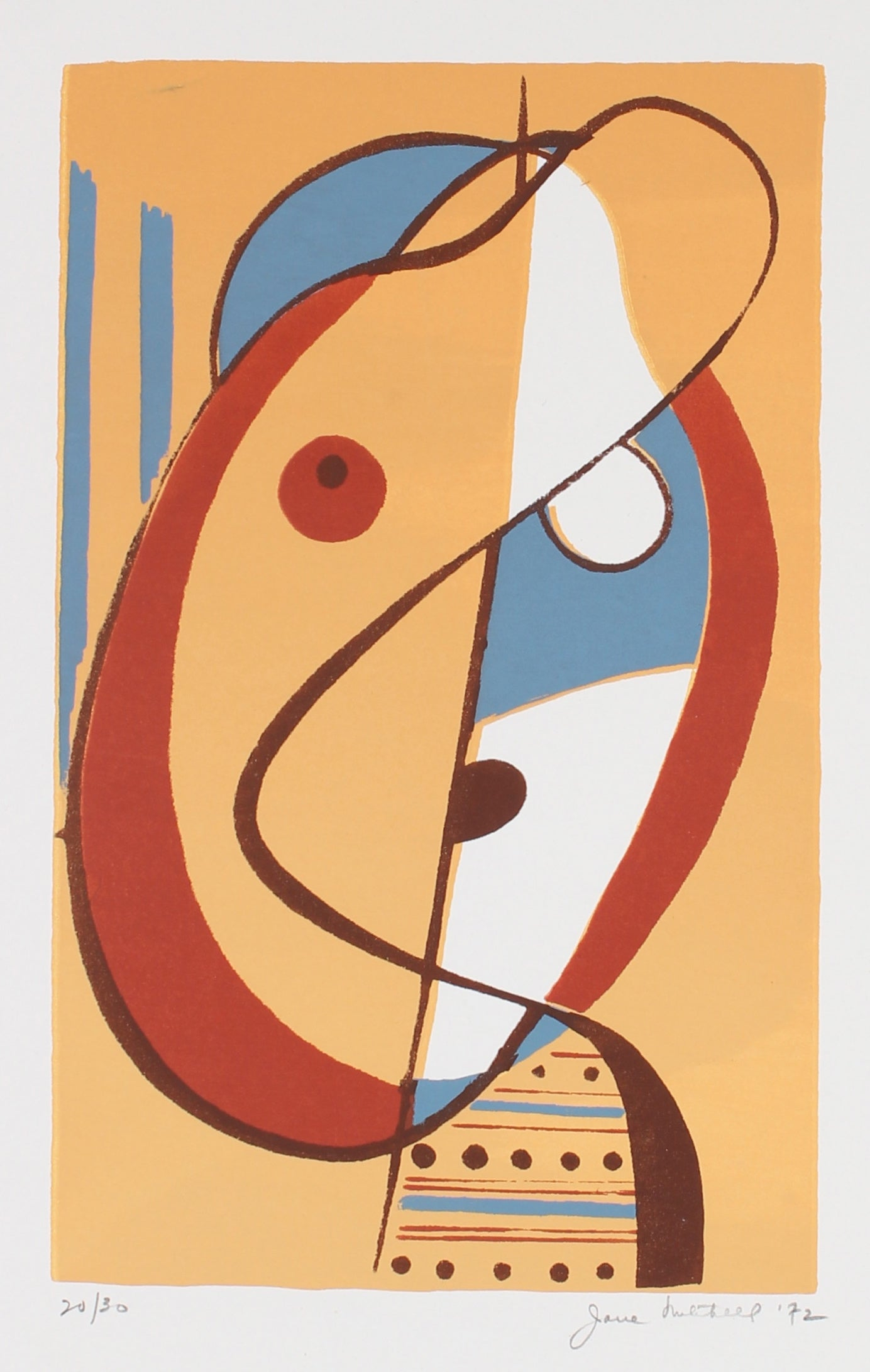 <i>Small Head </i><br>1972 Serigraph <br><br>#88445