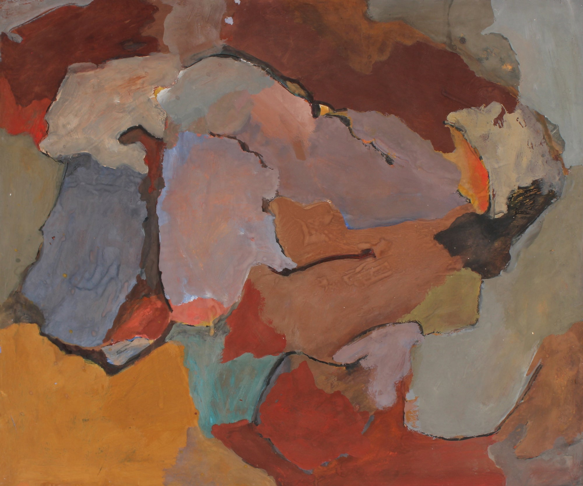 San Francisco Abstract Expressionist Painting<br>1960s<br><br>#88908