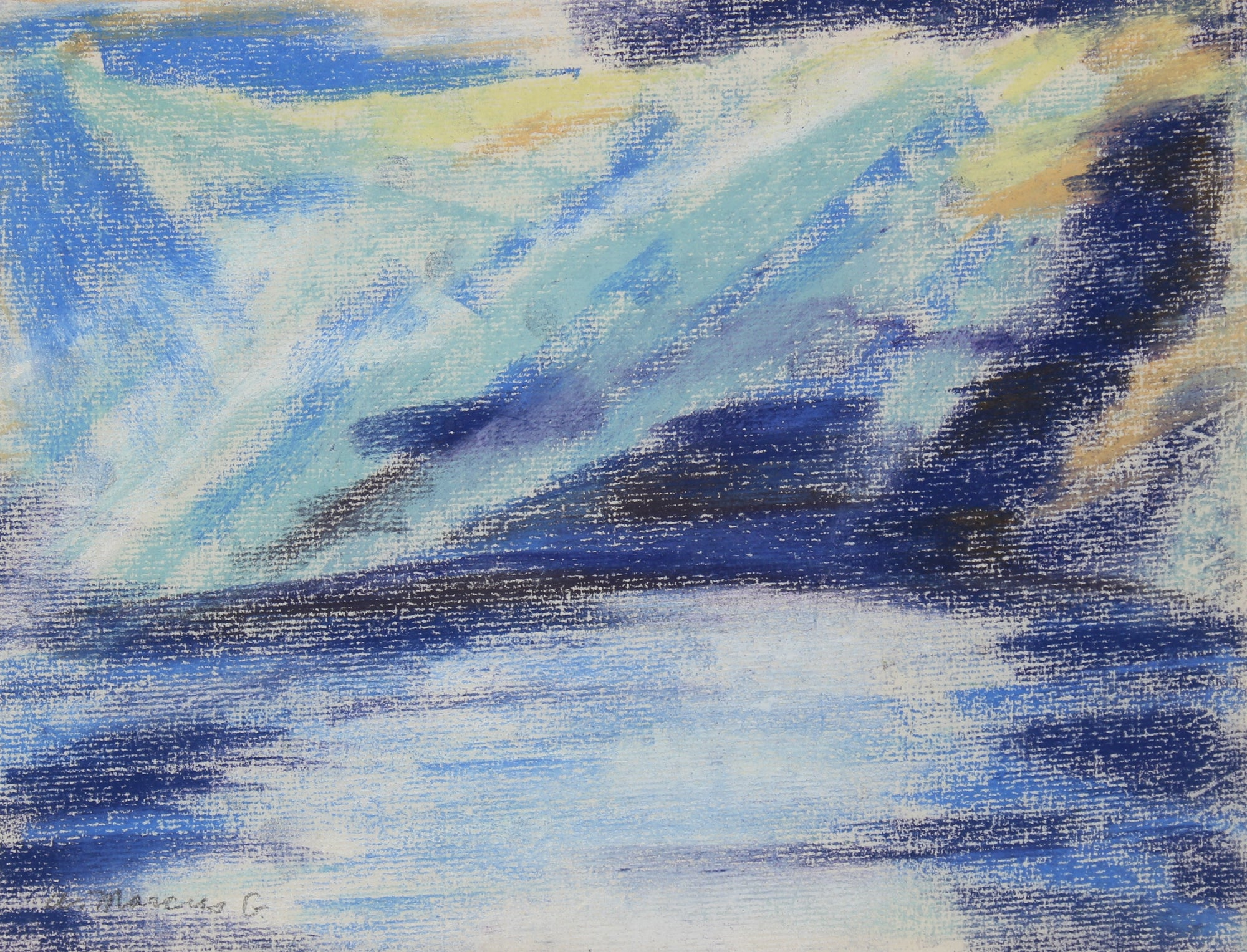 <i>Day Break Over Water</i><br>Pastel, Puerto Rico<br><br>#89616