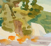 <i>Silver Lake II</i> <br>2001 Watercolor <br><br>#93525