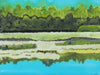 <i>Le deuxième lac (The Second Lake)</i><br>2017 Ink, Watercolor & Gouache<br><br>#96235