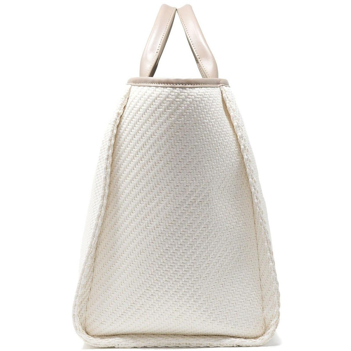 The Hamptons Large Shopping Bag in Taupe