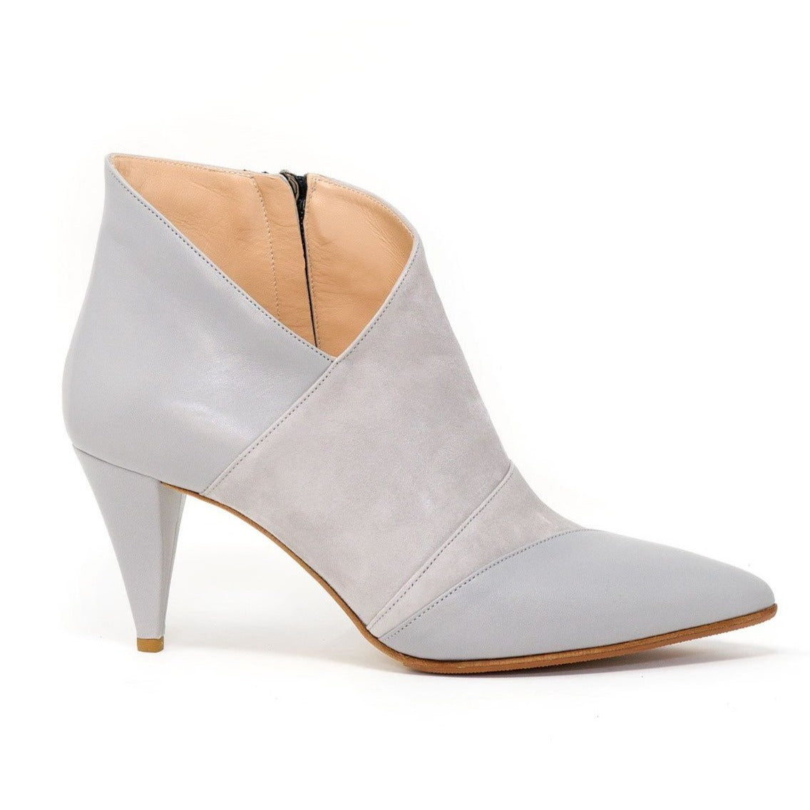 DDL4630 T70 Women Booties in Leather - Jennifer Tattanelli