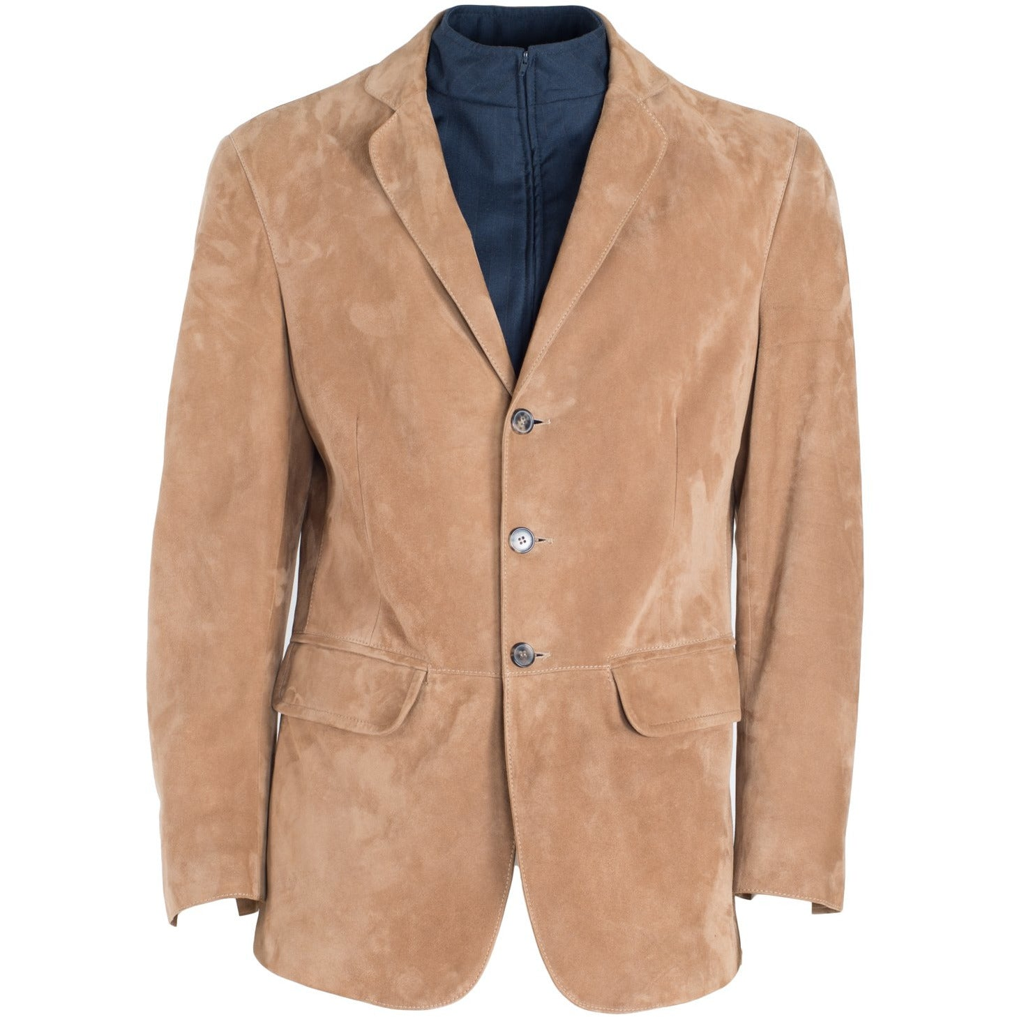 Jennifer Tattanelli crafted in Florence in her Artisan Atelier this men leather jacket,meticulously designed, contemporary and sartorial finished, this soft suede blazer is special and unique