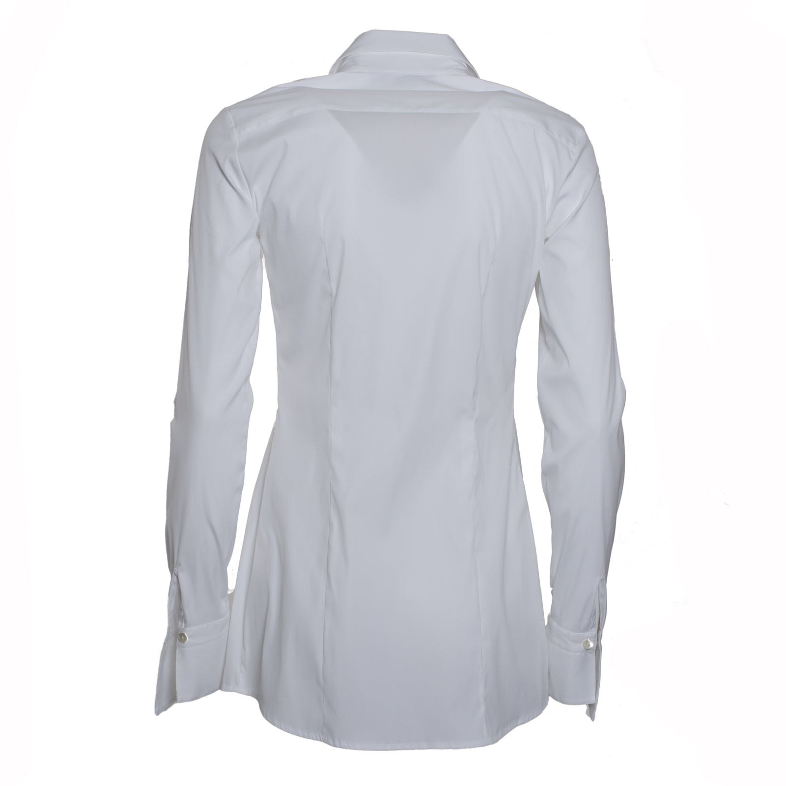 Jennifer Tattanelli crafted in Florence this timeless wardrobe essential, this classic white long-sleeved women shirt is crafted from high quality cotton