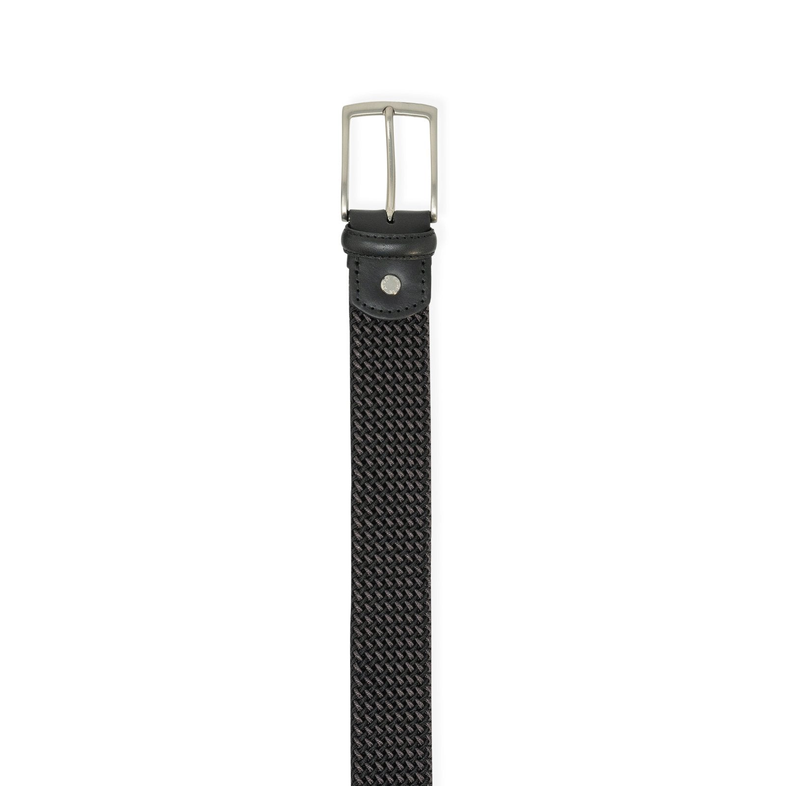 Intrecciato Corda Belt ELASTICO in Black - Jennifer Tattanelli