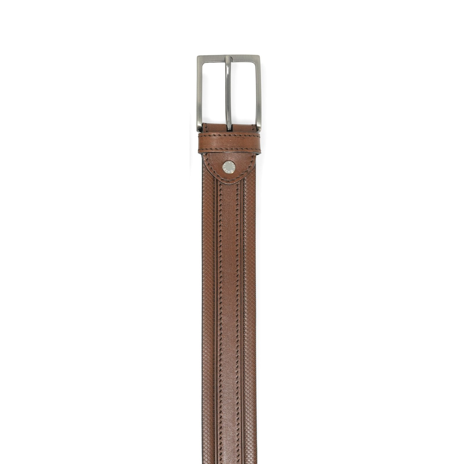 Taurus Cuoio Leather Belt GIAN81435 - Jennifer Tattanelli
