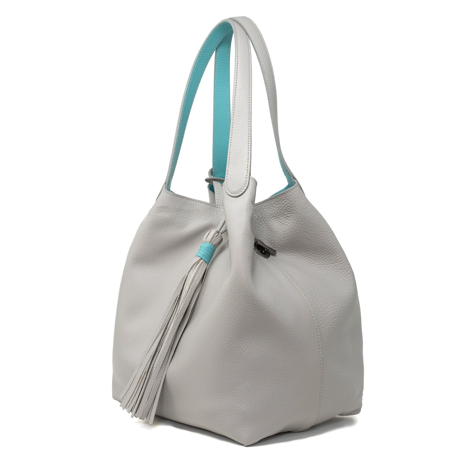 Women Reversible Tote Bag in Deer Dust - Jennifer Tattanelli