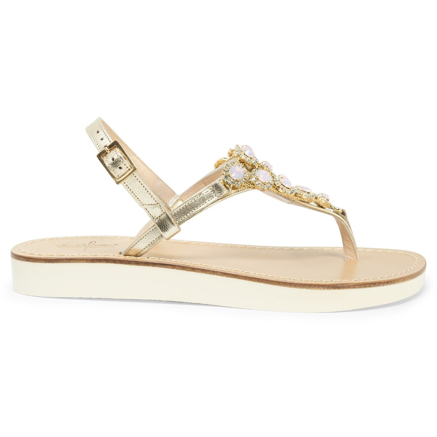 Women Elegant Swarovski Sandals - Jennifer Tattanelli
