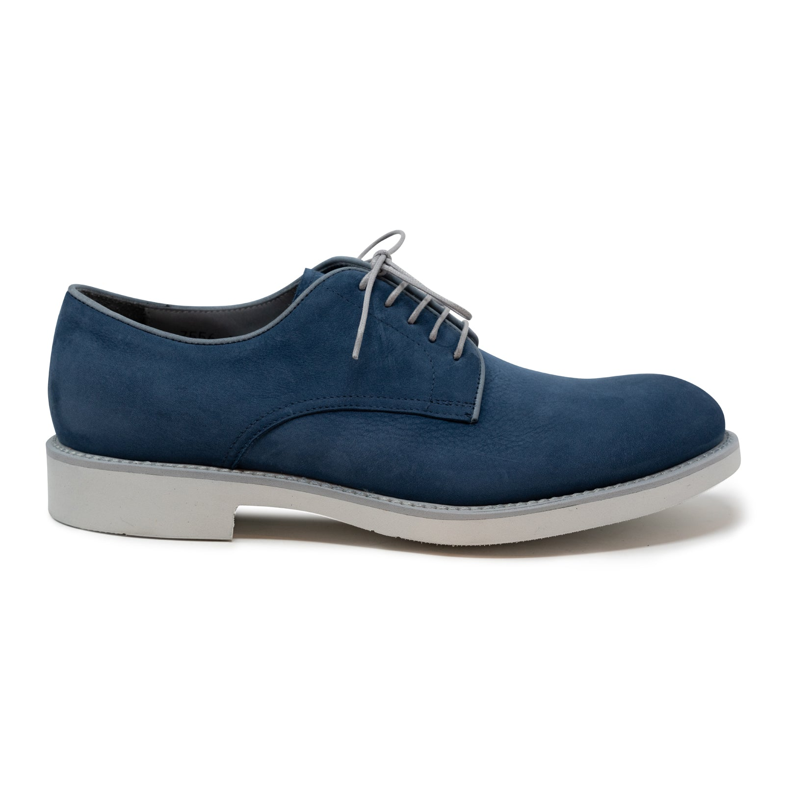 Lace Up Men Shoes in Blue