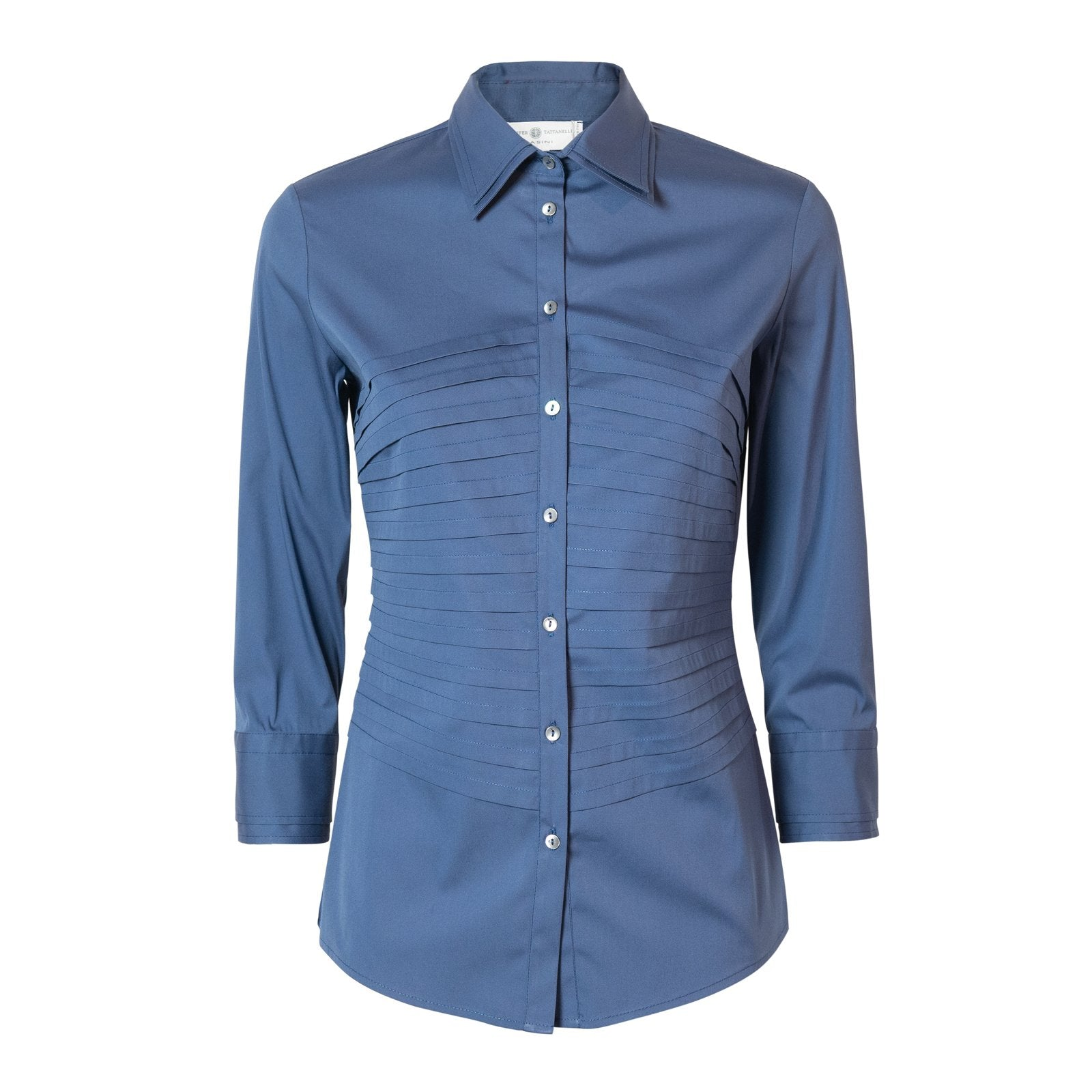 Virgilio women cotton shirt GOSM2574 - Jennifer Tattanelli