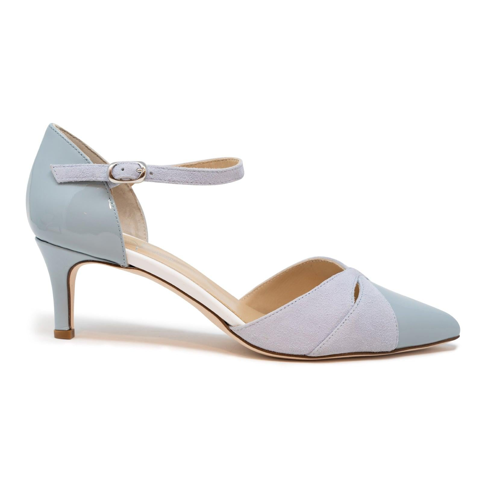 Women's Suede Leather Pumps in Foschiaq