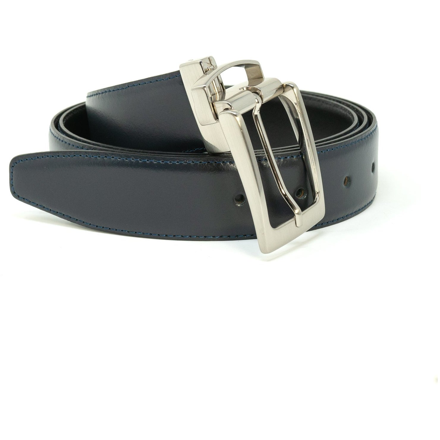 Black Reversible Nappa Belt - New Spring Summer 2020 Collection