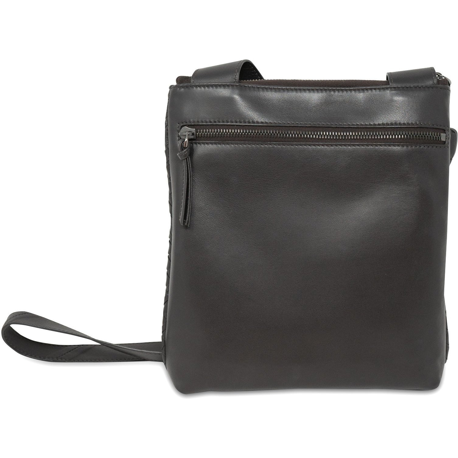 KIM Crossbody Women Bag in Nappa Testa di Moro (Dark Brown) - Jennifer Tattanelli
