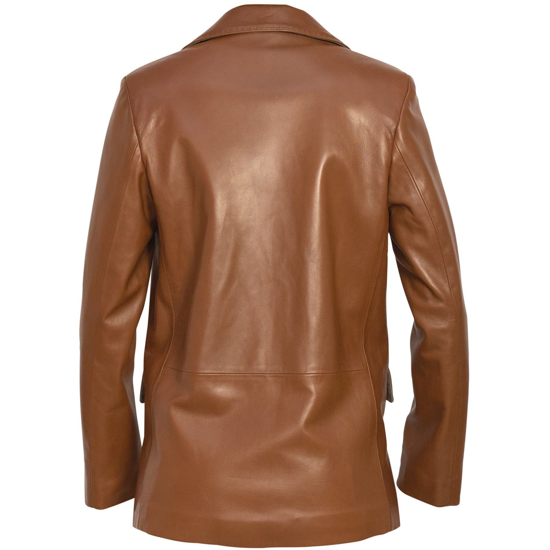 Nappa Leather Cuoio Blazer - New Spring Summer 2020 PRG017W