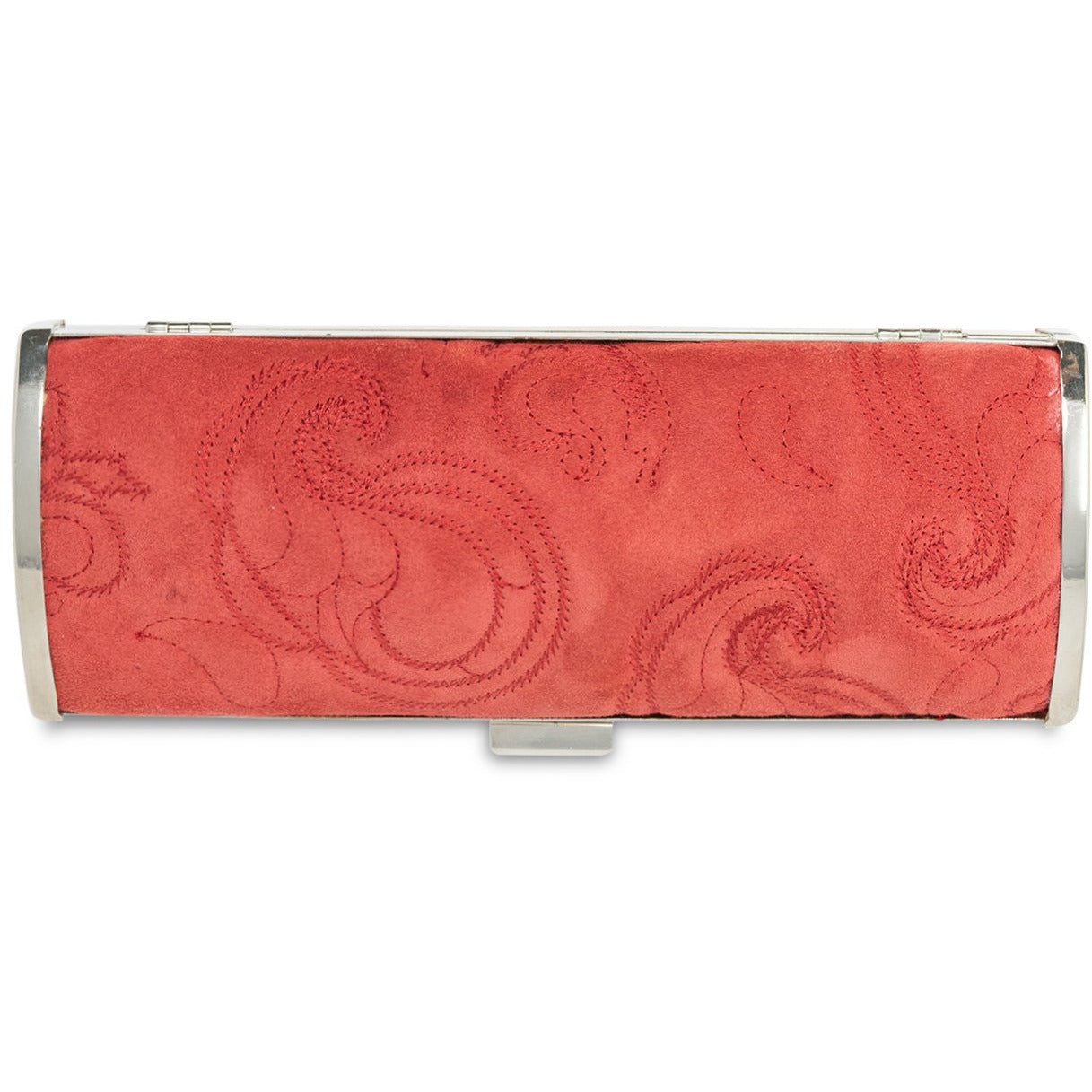 JT344 5358 Women Quilted Pasley Leather Clutch Bag - Jennifer Tattanelli