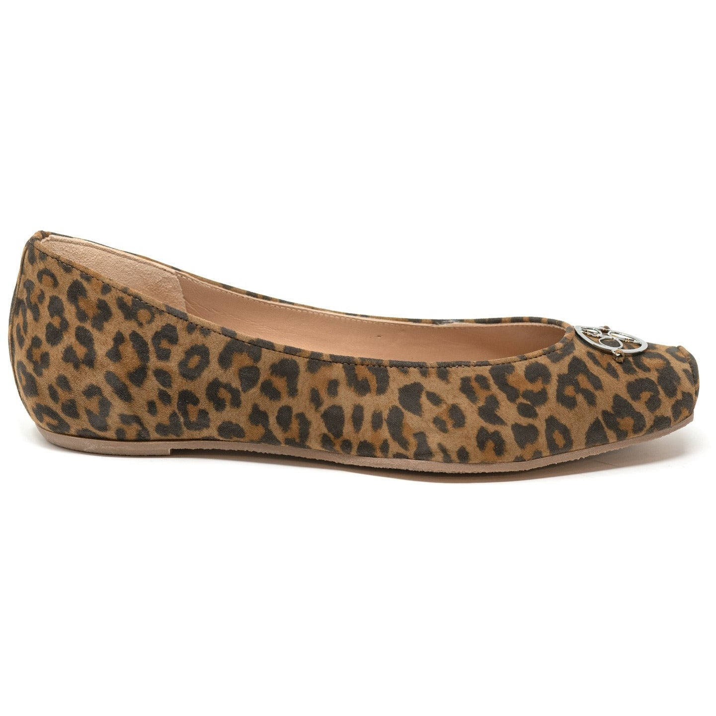 MIL722 15 Leopard Lamb Hair Ballerinas with hidden heel - New Spring Summer 2020 Collection