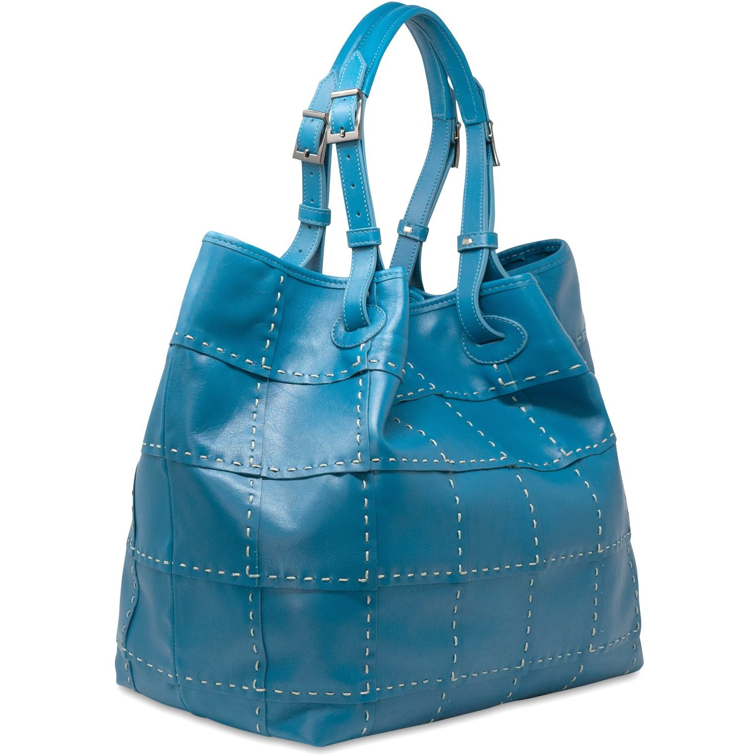 ARTSARA Women Leather Tote Bag - Jennifer Tattanelli