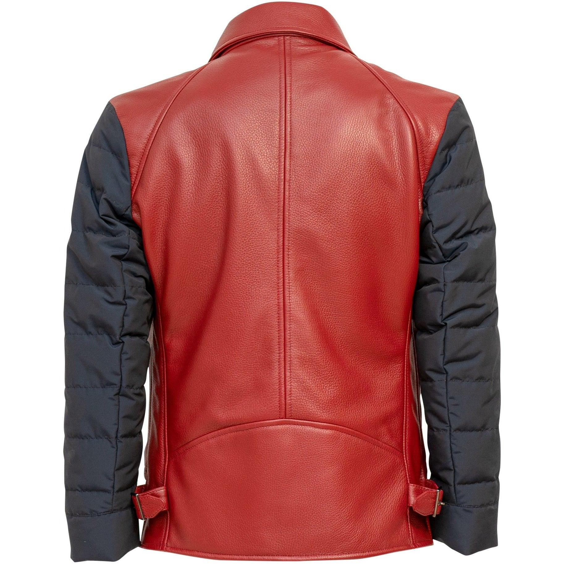 PRG001M Men Leather Jacket - New Fall Winter 2019-2020 Collection