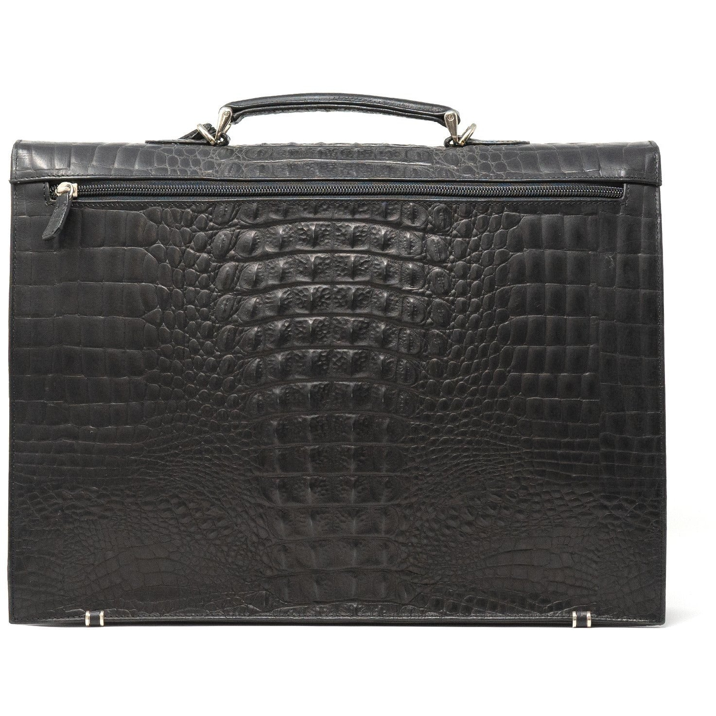 JT324 8009 Men Briefcase Printed Alligator - Jennifer Tattanelli