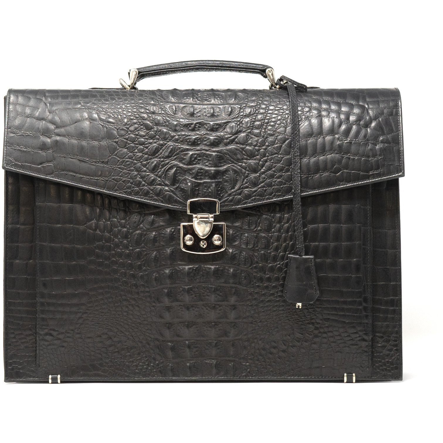 JT324 8009 Men Briefcase Printed Alligator