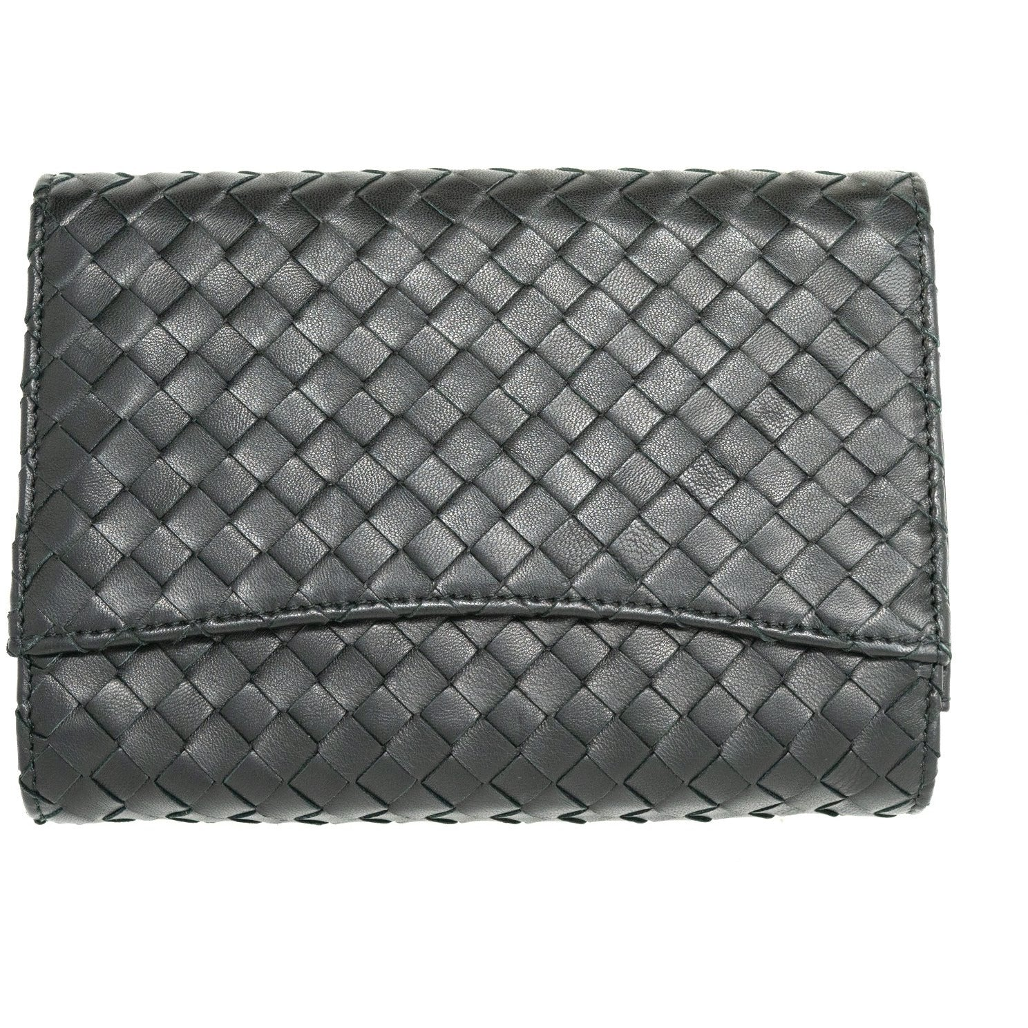 JT283 6040 Intrecciato Leather Clutch - New Spring Summer 2020 Collection