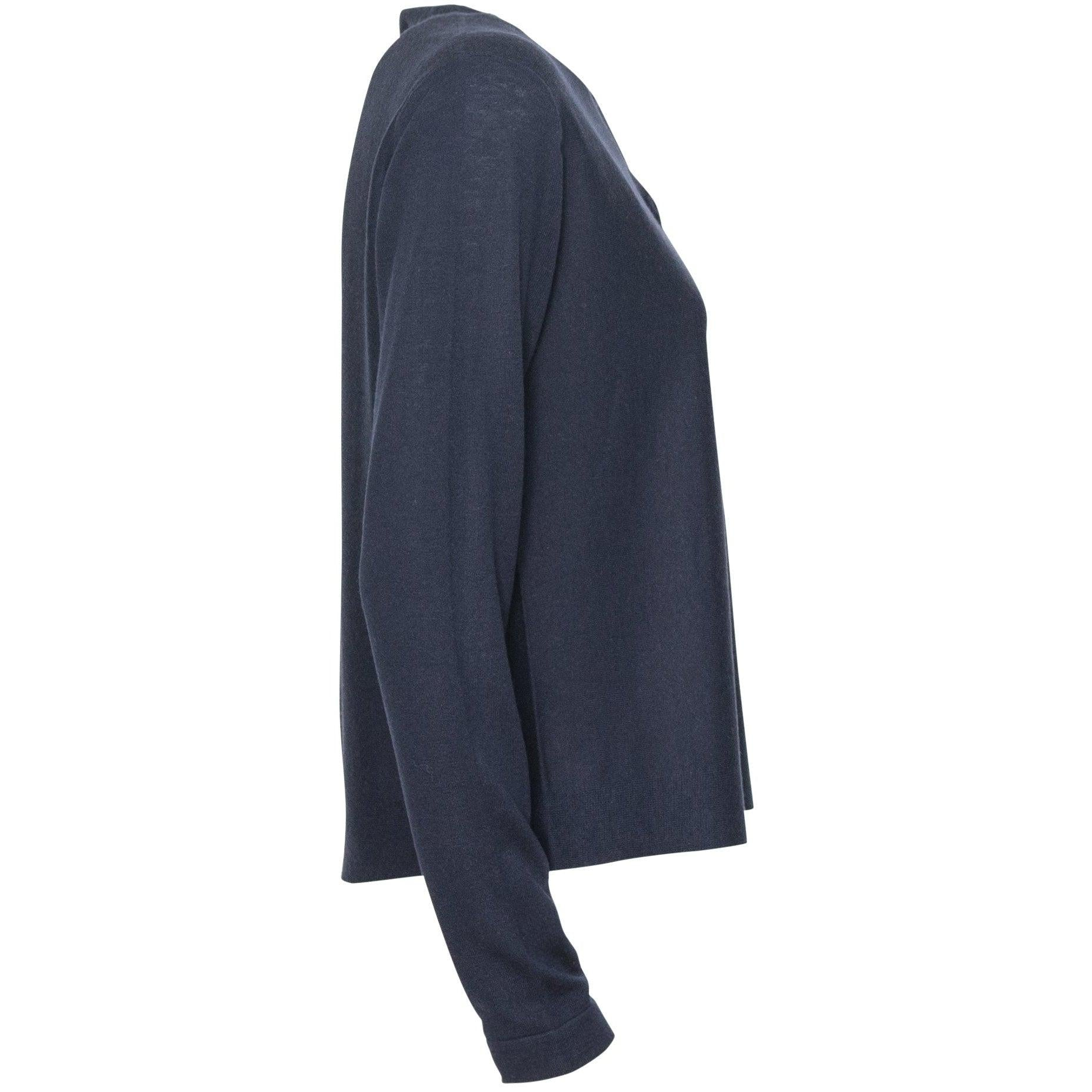 Women Cashmere Cardigan in Blue
