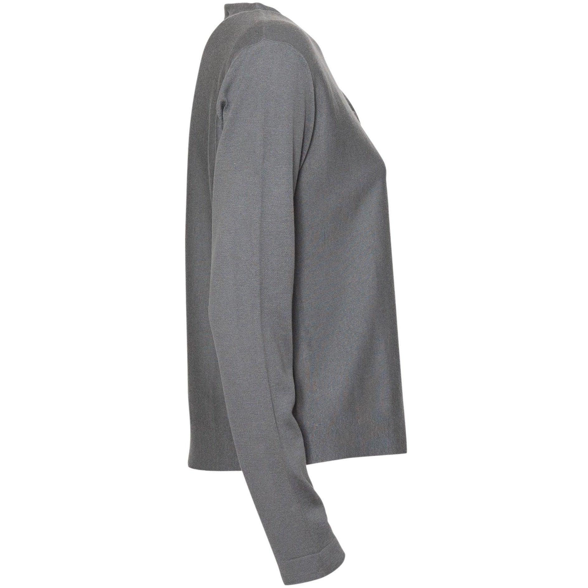 Women Cashmere Cardigan in Grey