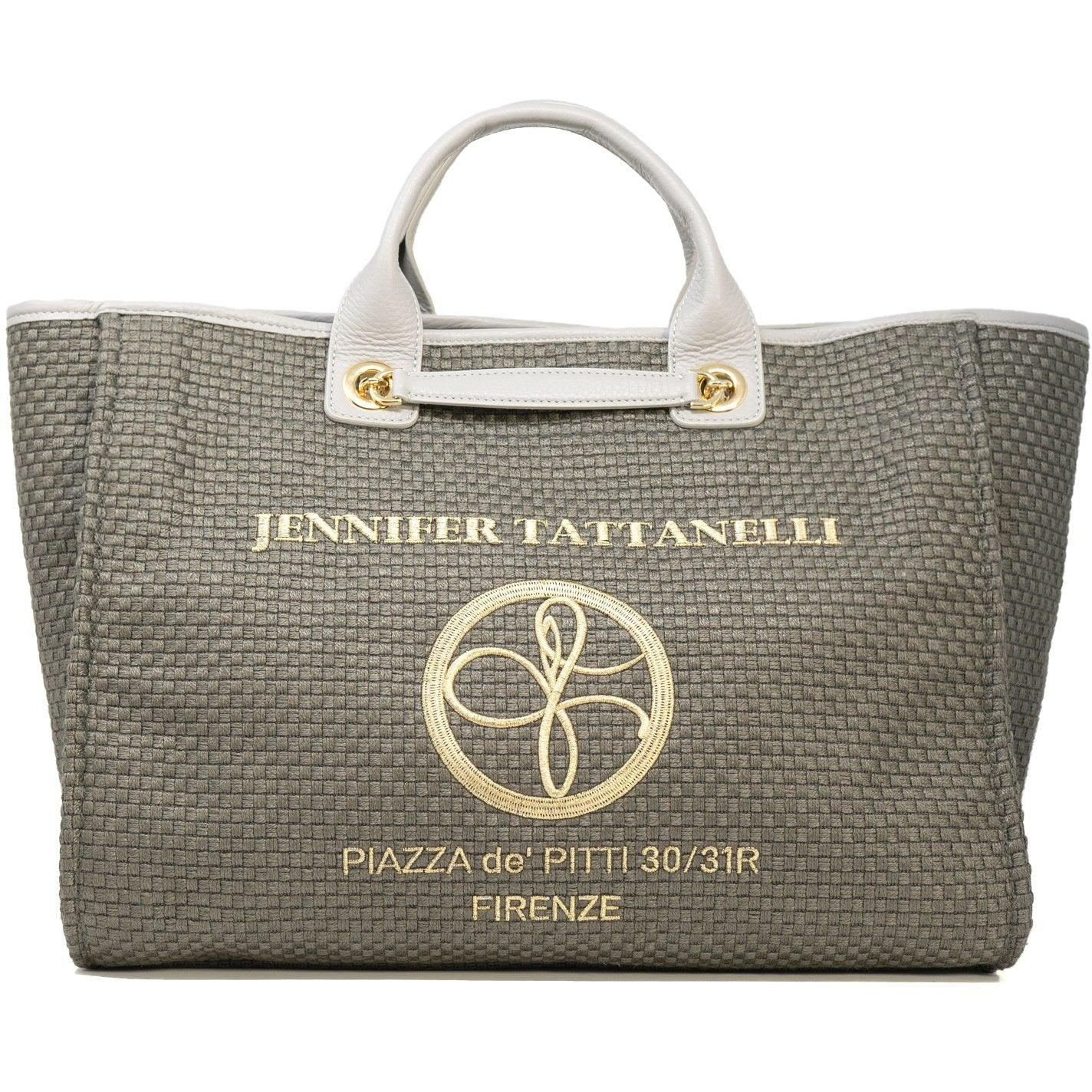 The Hamptons Large Shopping Bag in Grey