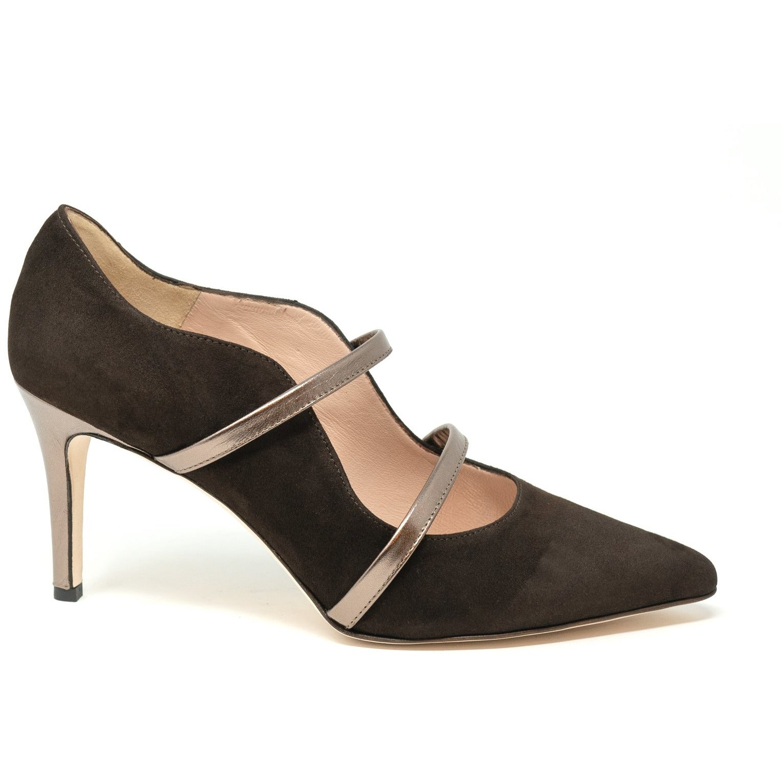 MIL5001 H80 Women Leather Pumps - Jennifer Tattanelli